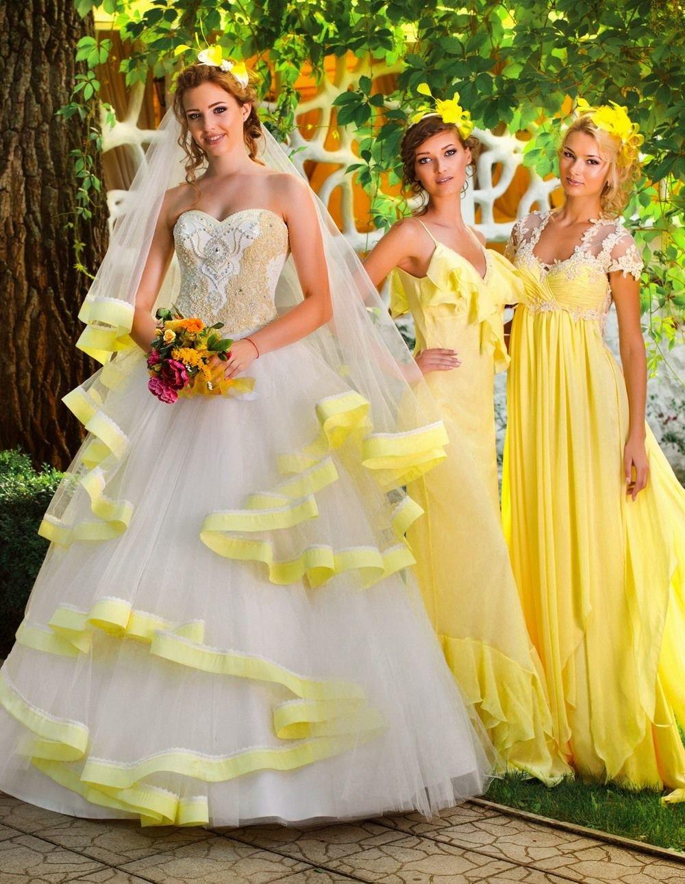 Платья подружкой невесты
