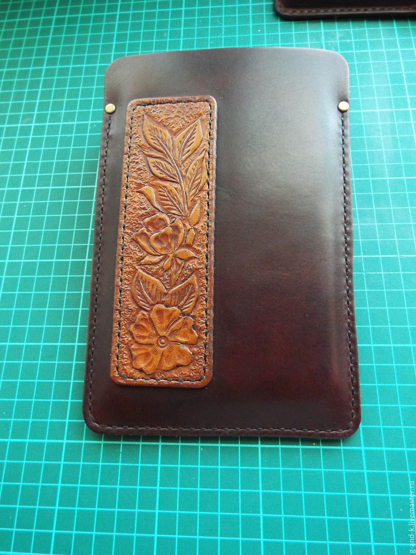 Мастер-класс по пошиву кожаного чехла для телефона (Iphone SE) 709