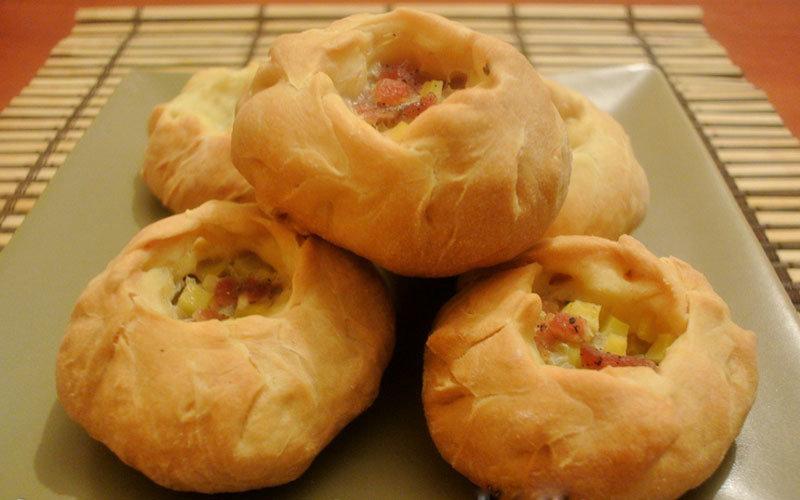 Татарский пирожки с мясом и картошкой рецепт 22