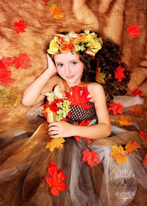 Детские платья своими руками мисс осень 25
