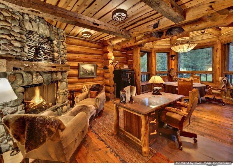 Интерьеры деревянных домов фото внутри