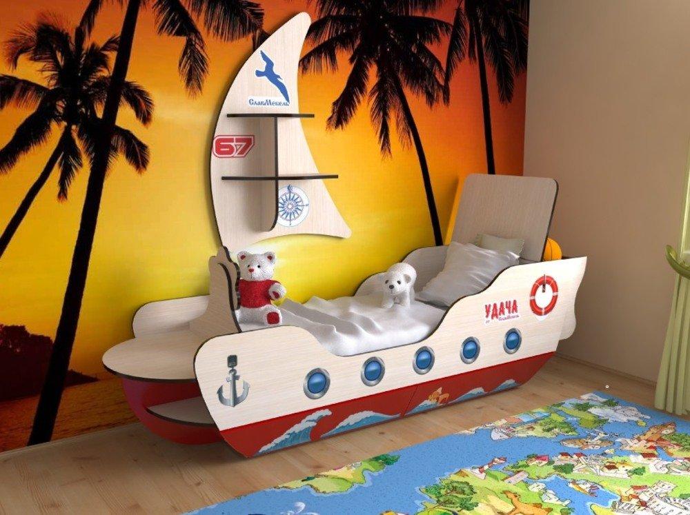 Кровать детская корабль своими руками 68