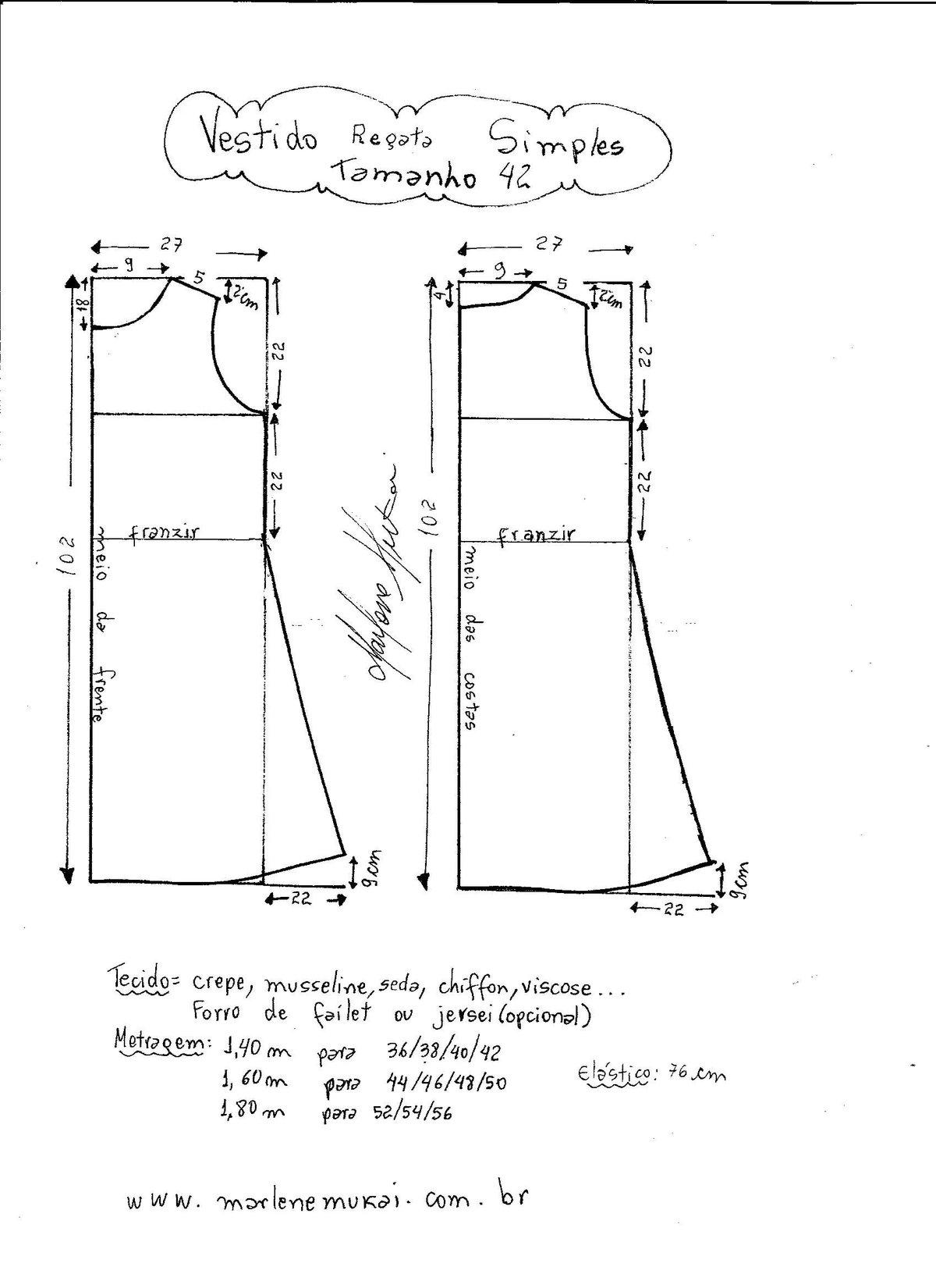 Шьем платья без выкроек своими руками 636