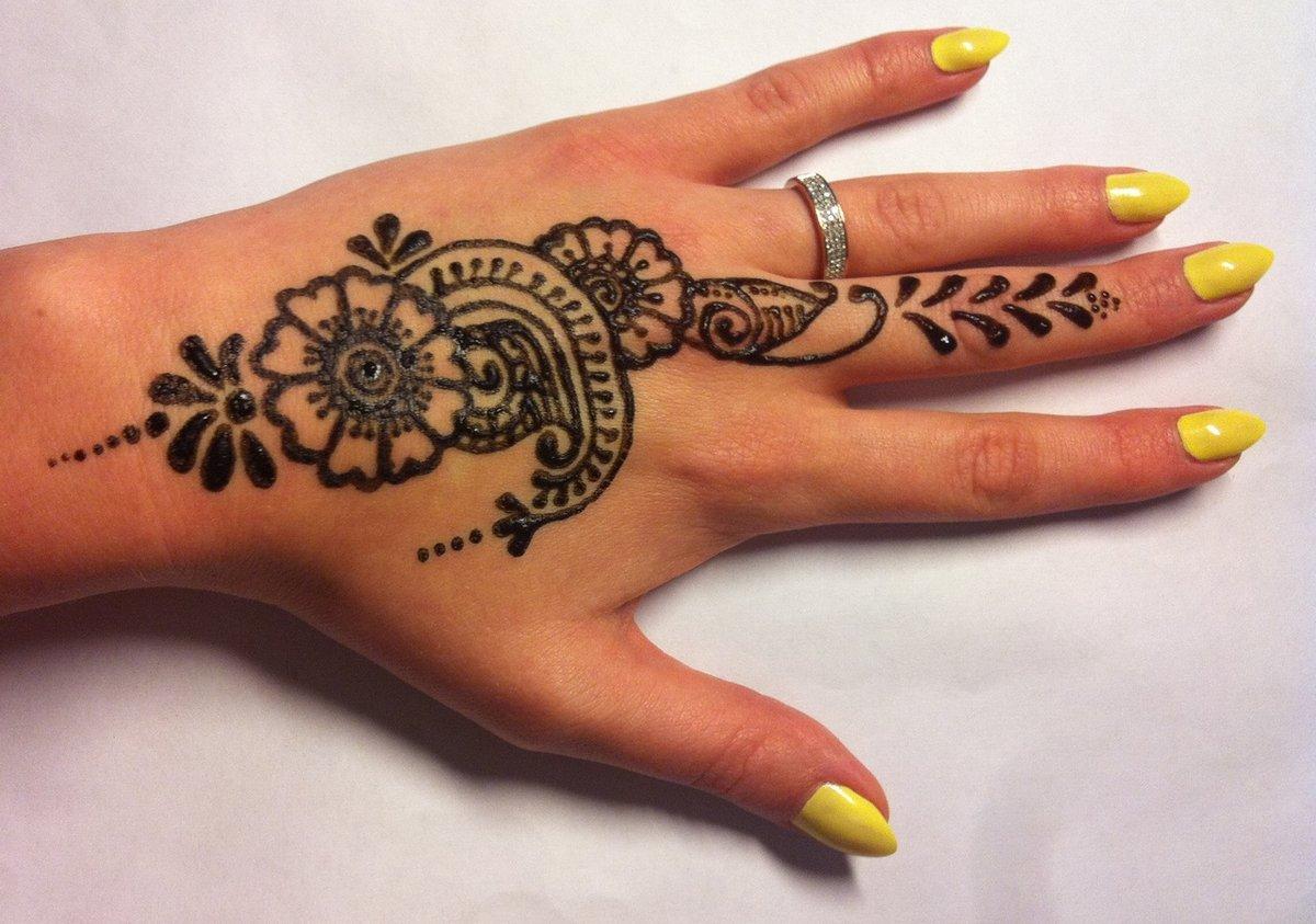 Татуировки для девушек на руке 55