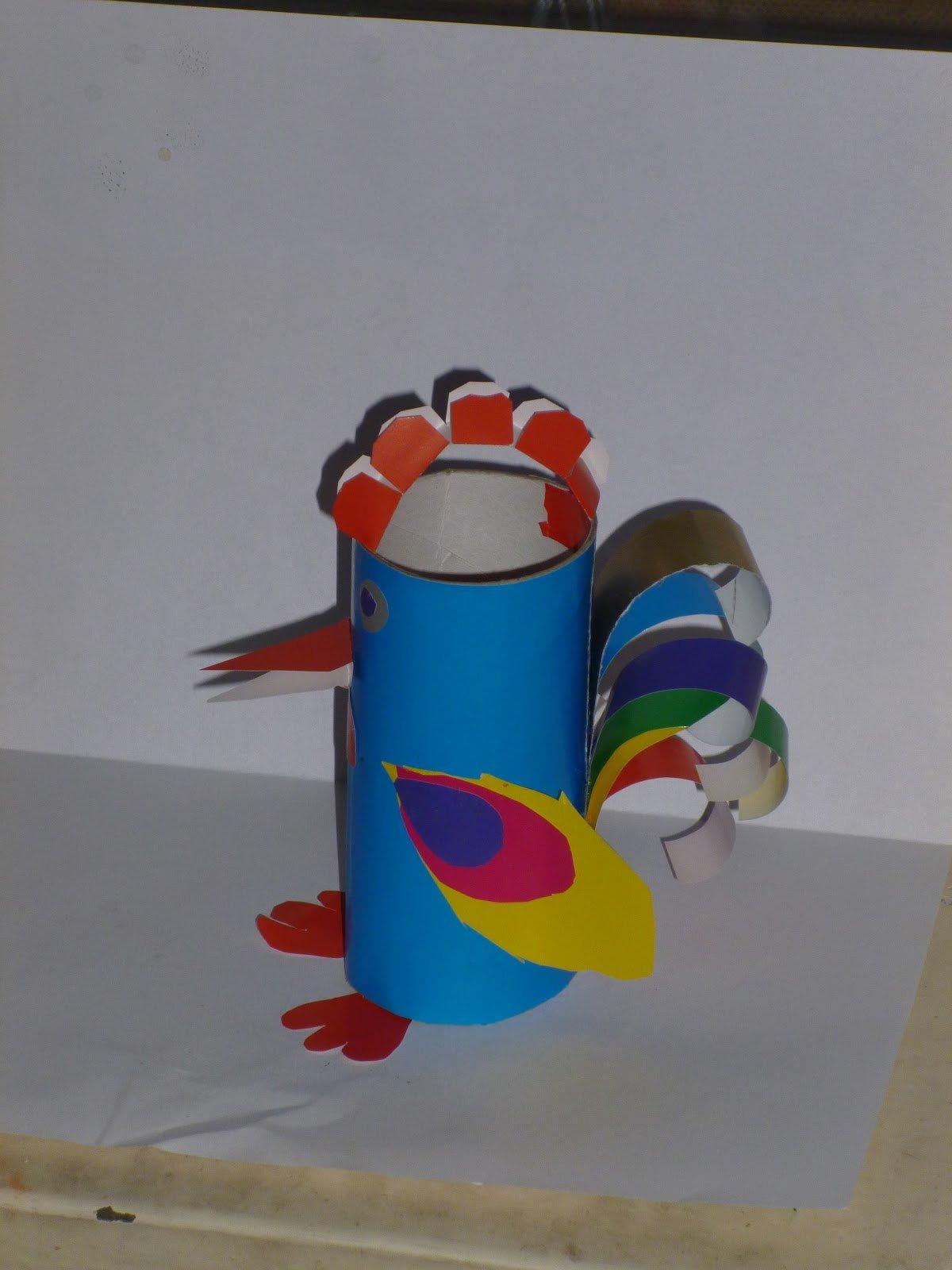 Ракета из втулки от туалетной бумаги для детей