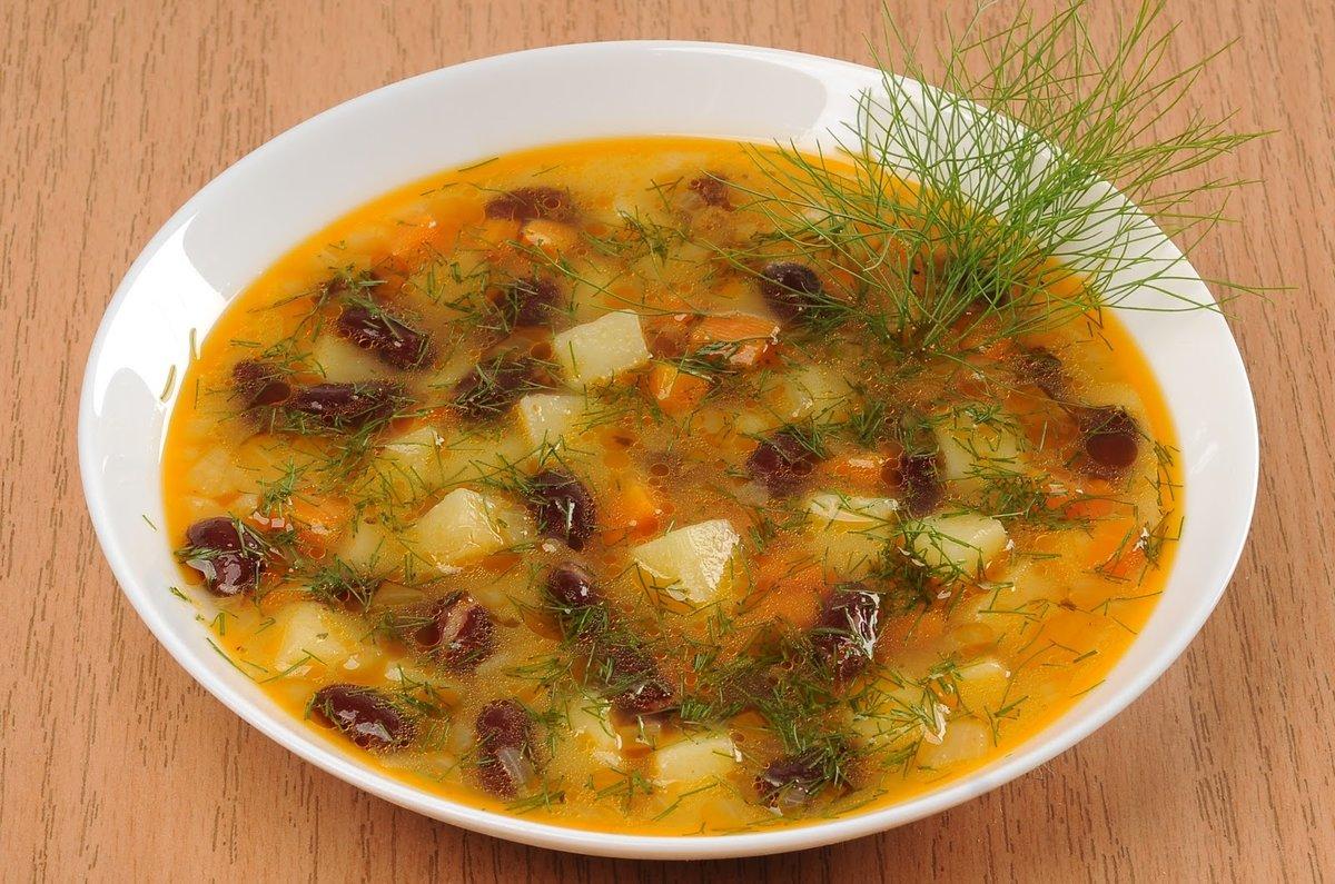 Суп с красной фасолью рецепт очень вкусный с