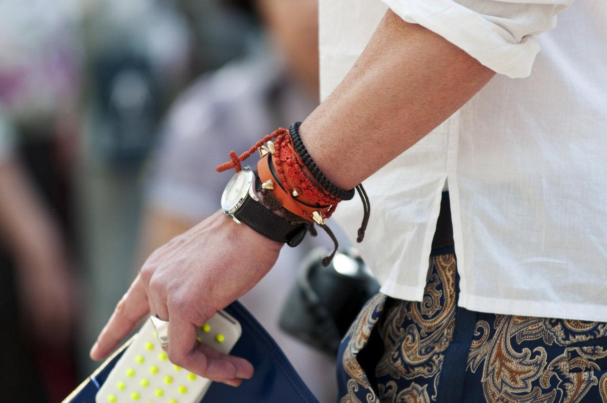 Как сделать модный браслет своими руками: мастер-класс 91