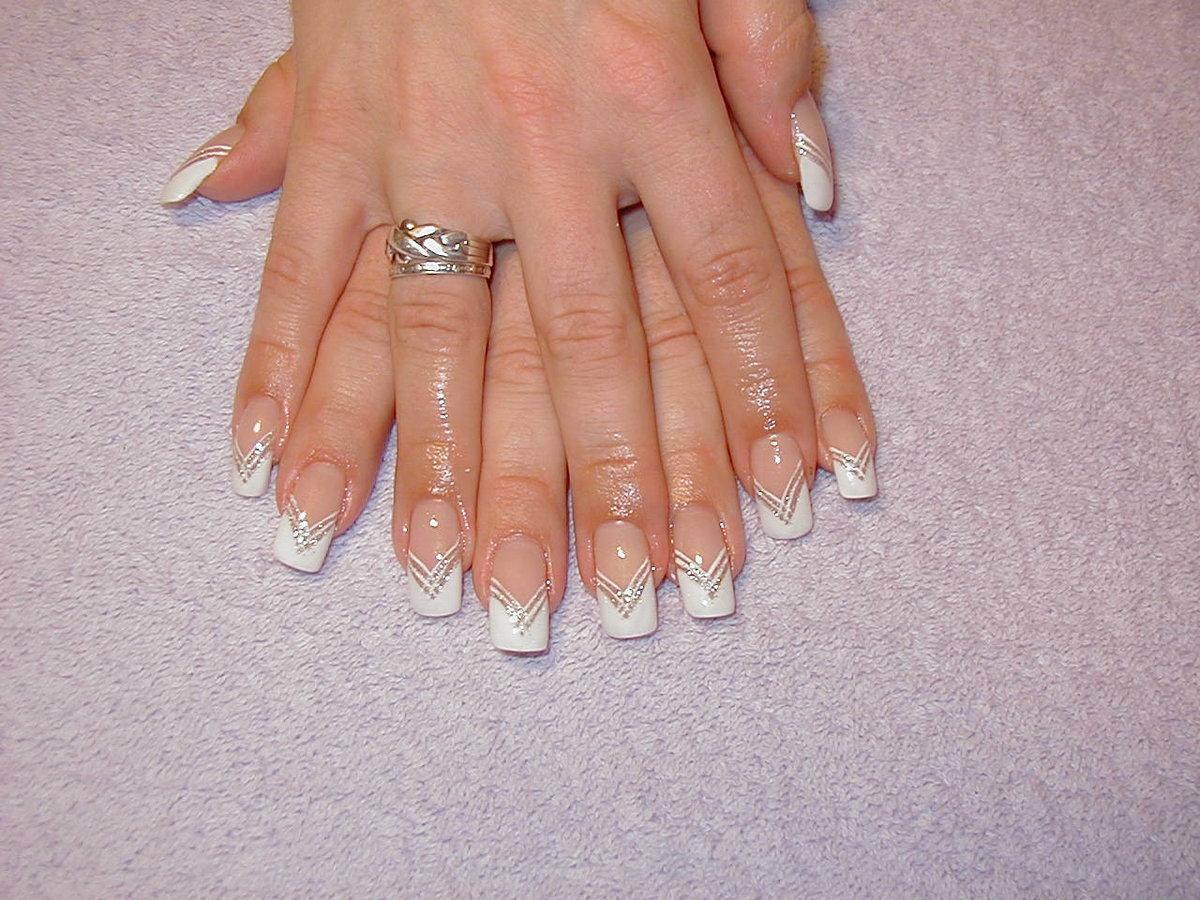 Красивый дизайн ногтей френч самой фото