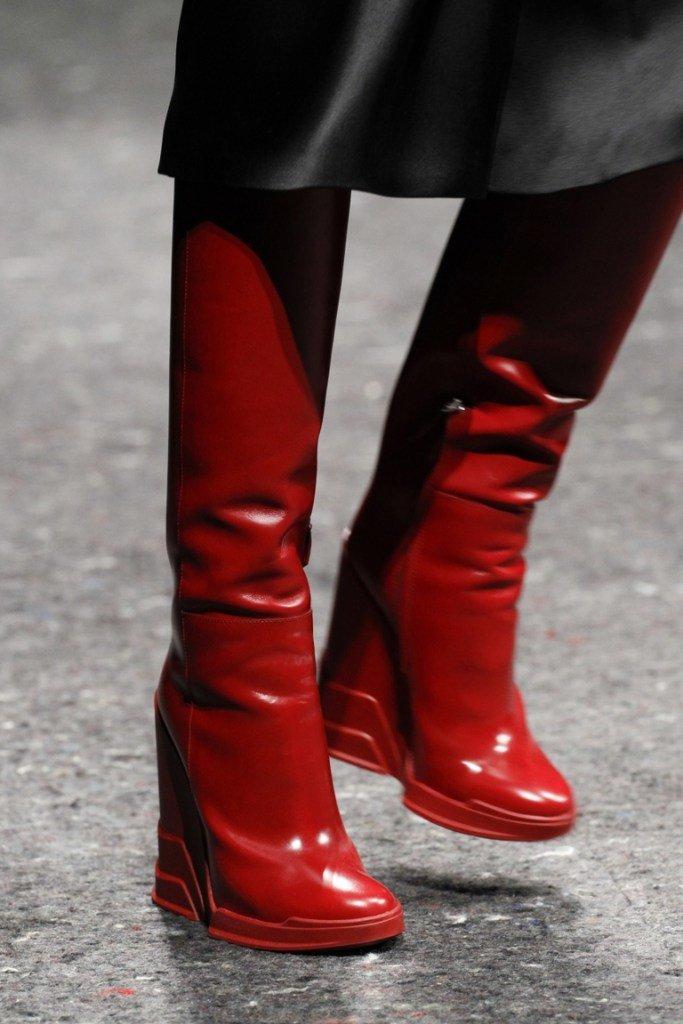 Обувь на платформе 2015