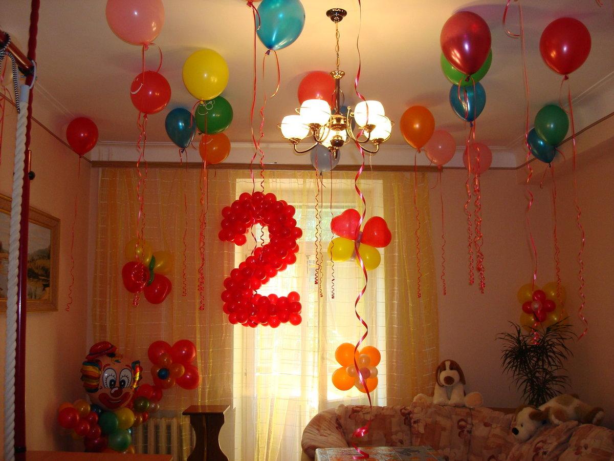 Как украсить комнату на день рождения ребенка 5