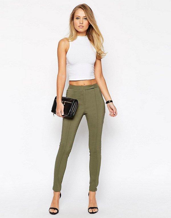 Модные женские брюки 7 8