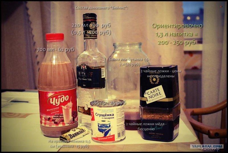 Ликер бейлиз в домашних условиях рецепт пошагово