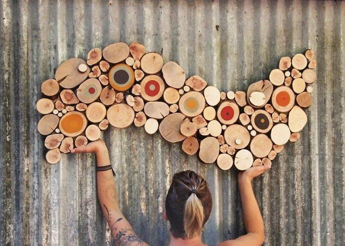 Декор из дерева для детей
