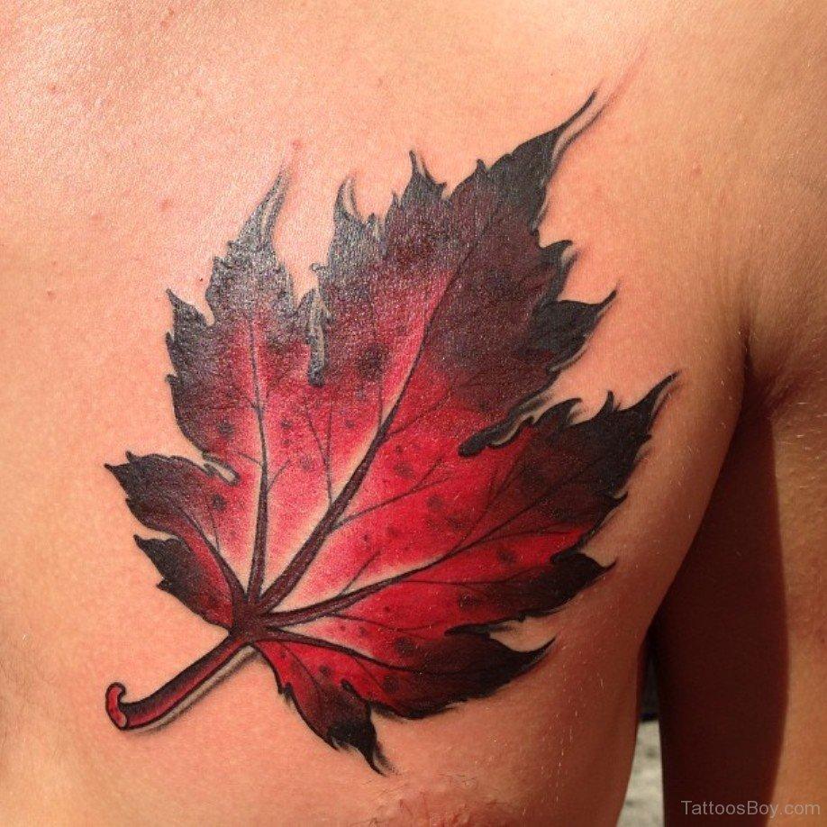 Что означает тату кленового листа