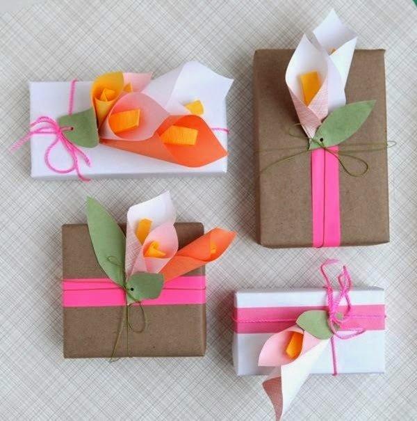 Как сделать подарок маме на день рождения цветы из бумаги