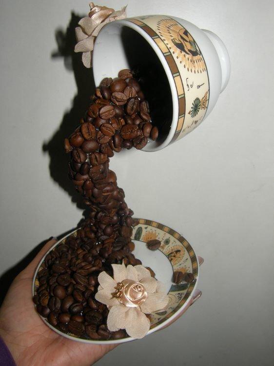 Кофейный сувенир своими руками