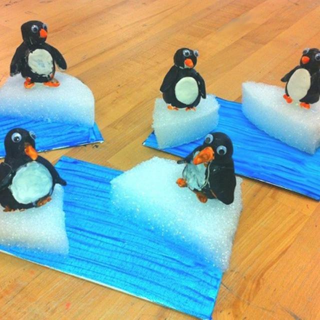Пингвины своими руками в детский сад