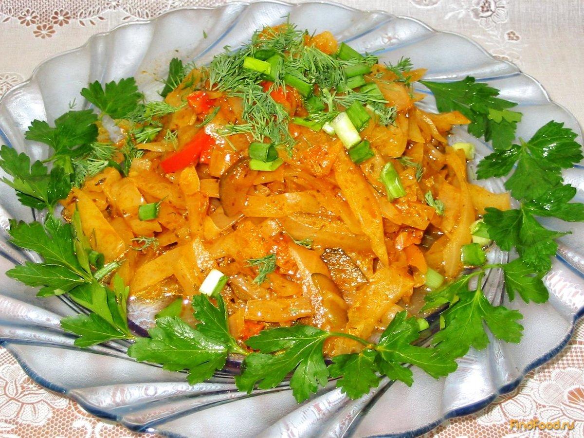 Блюда из овощей и грибов - рецепты овощных блюд с фото 32