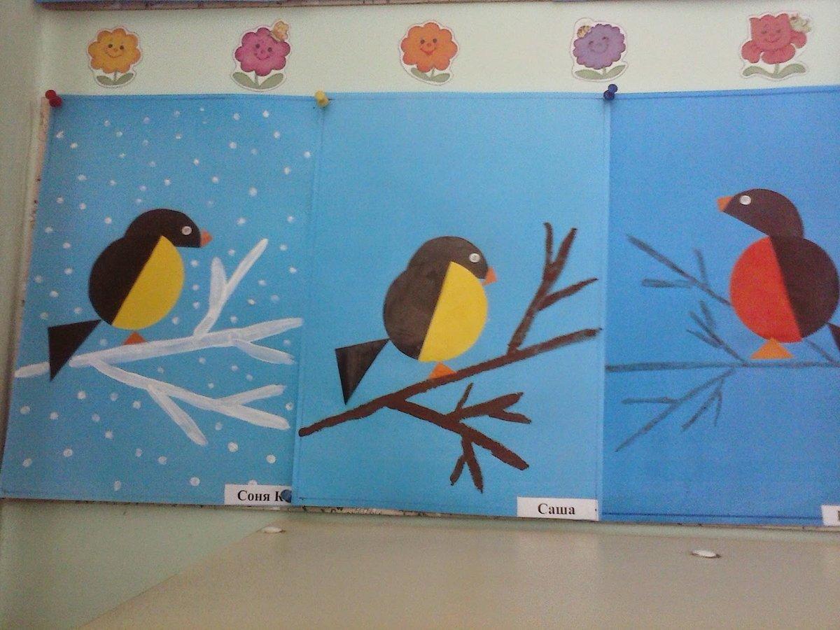 Поделка или рисунок птицы