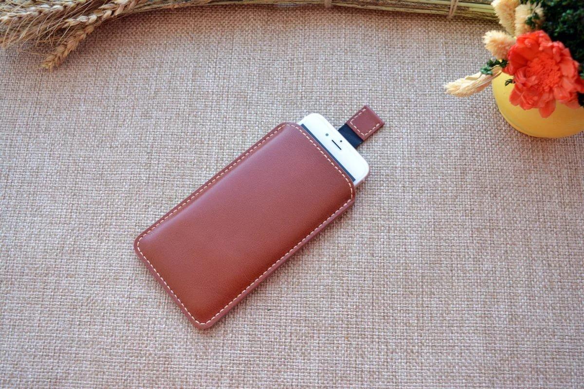 Чехол из кожи для смартфона своими руками
