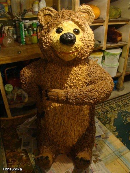 Поделки медведей на даче