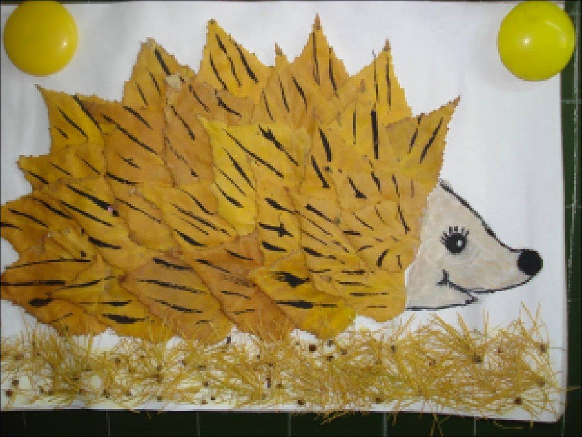 Поделки на тему осень в школу из природного материала