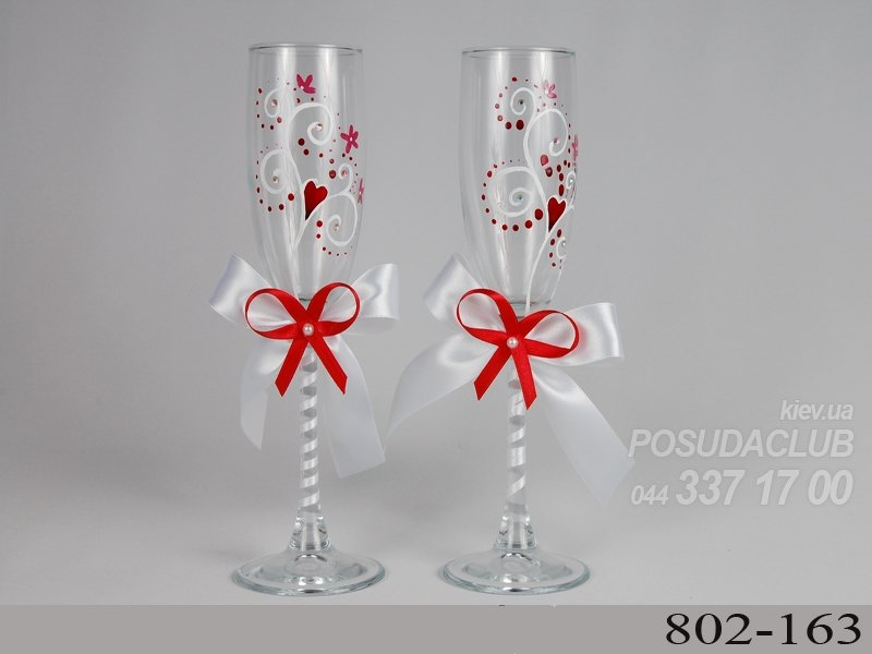Для свадьбы своими руками бело-красного цвета 522