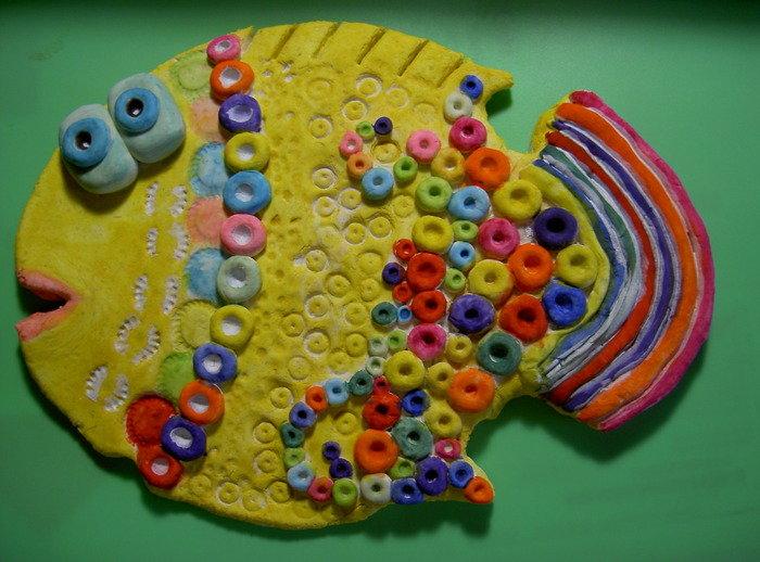 Детские поделки из тестопластики