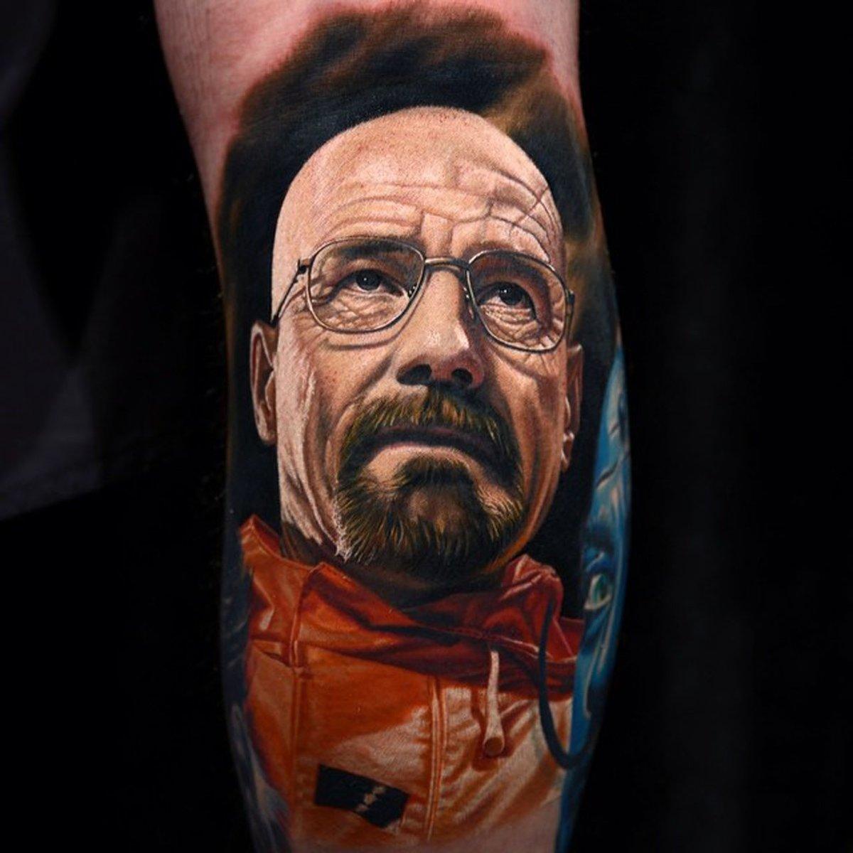 Цветные портреты в тату