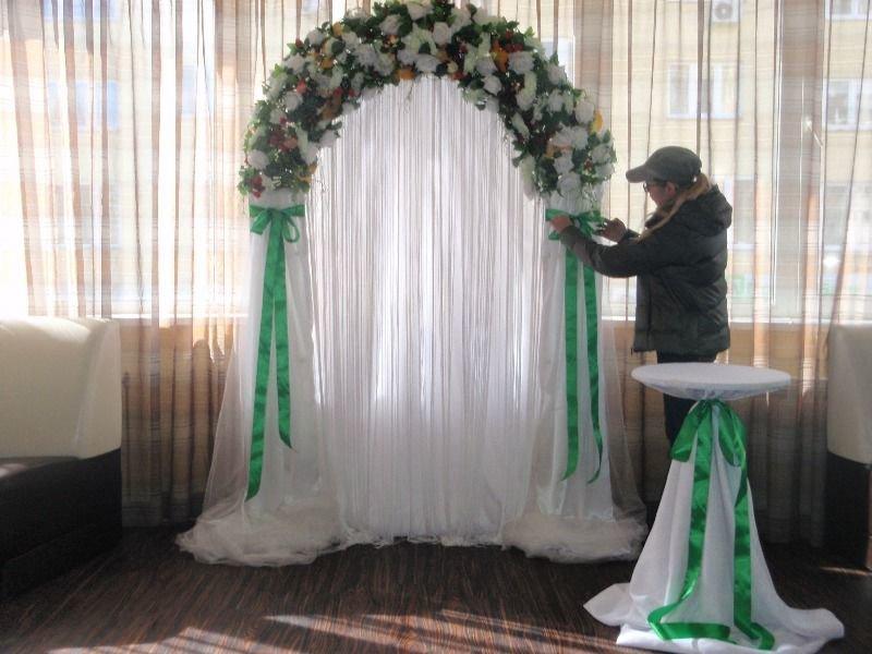 Как самой сделать арку на свадьбу 646