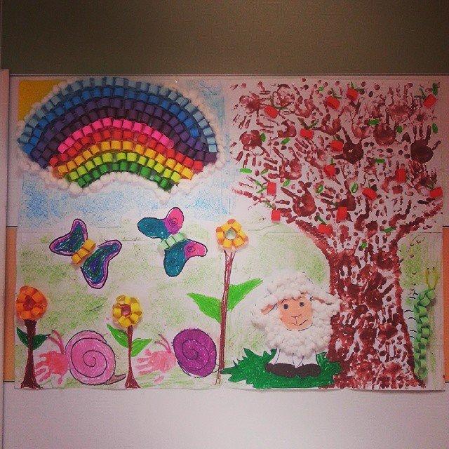 Весенние поделки для детского сада своими