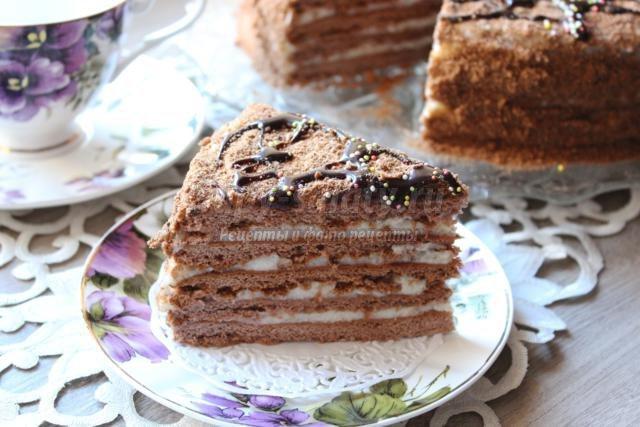Рецепт шоколадного торта сказка