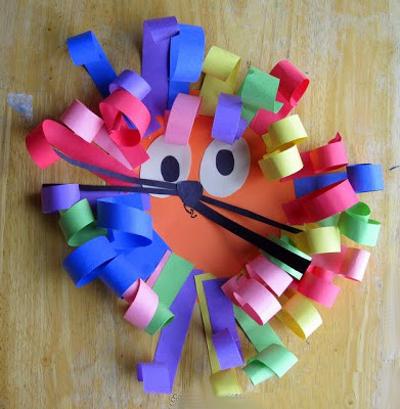 Поделки детей из своими руками из цветной бумаги