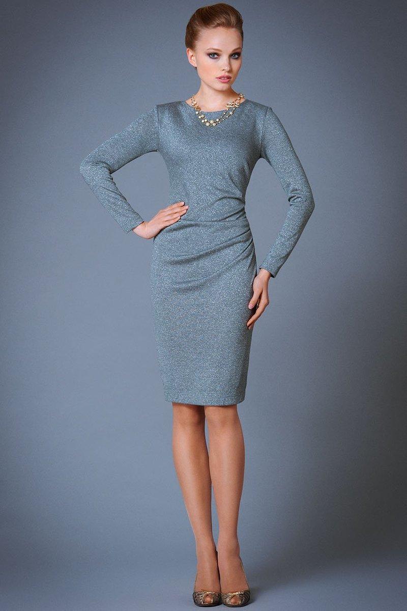 Нарядные платья с люрексом