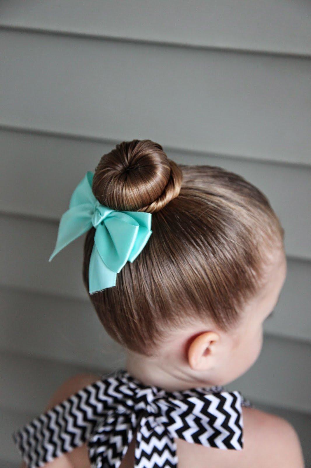 Прически для маленьких девочек.с фото