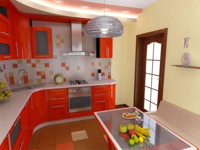 Дизайн интерьера кухня фото