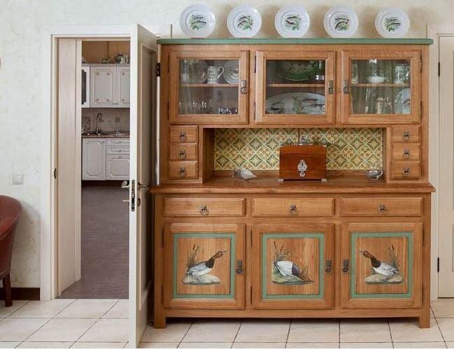 Декупаж кухонной стенки своими руками 96