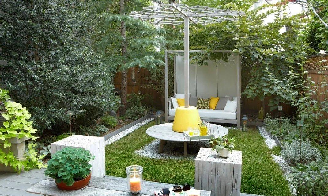 Идеи для дизайна двора в частном доме своими руками 74