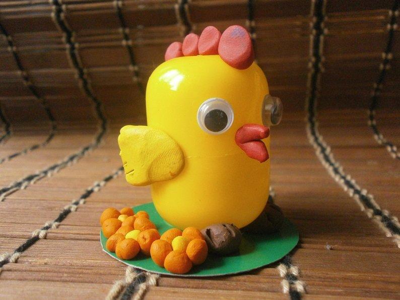 Поделка из яиц в детский сад