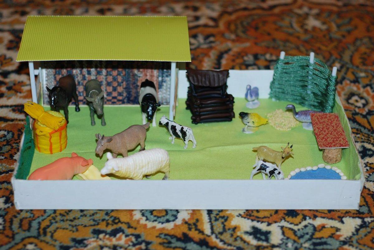Домашние животные в детском саду своими руками 49
