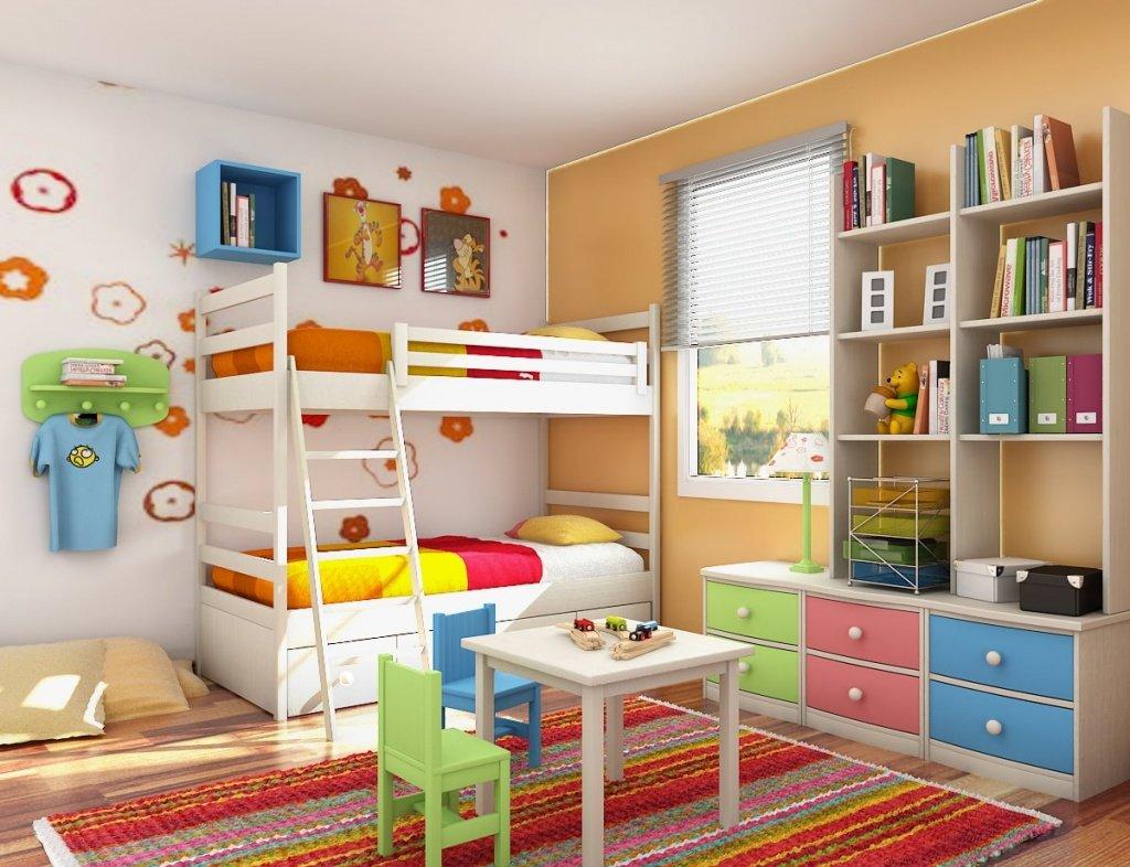 Идей для детской комнаты фото
