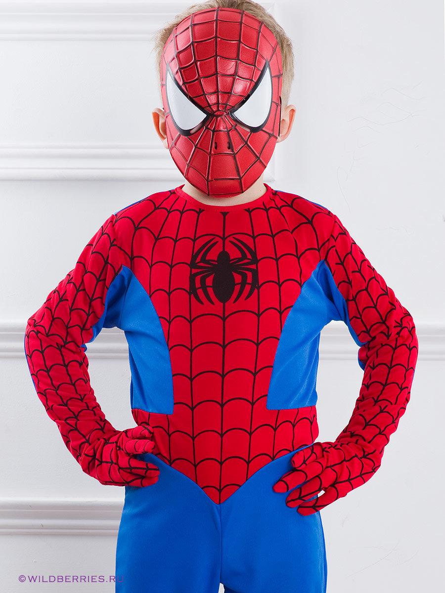 Сшить костюм человека паука