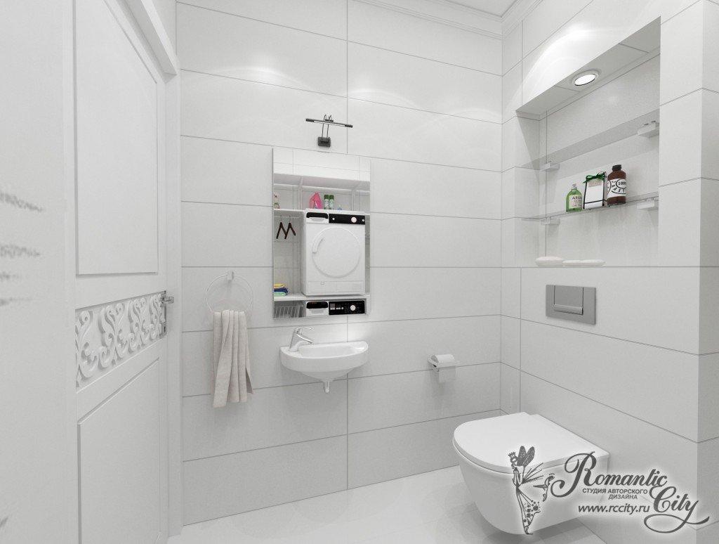 Белые санузлы дизайн фото