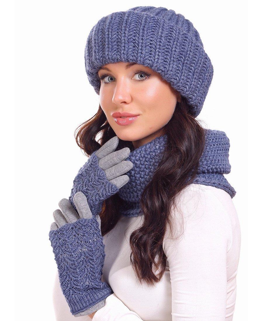 Вязаные зимние шапки Вязание Шапок Спицами и Крючком 22