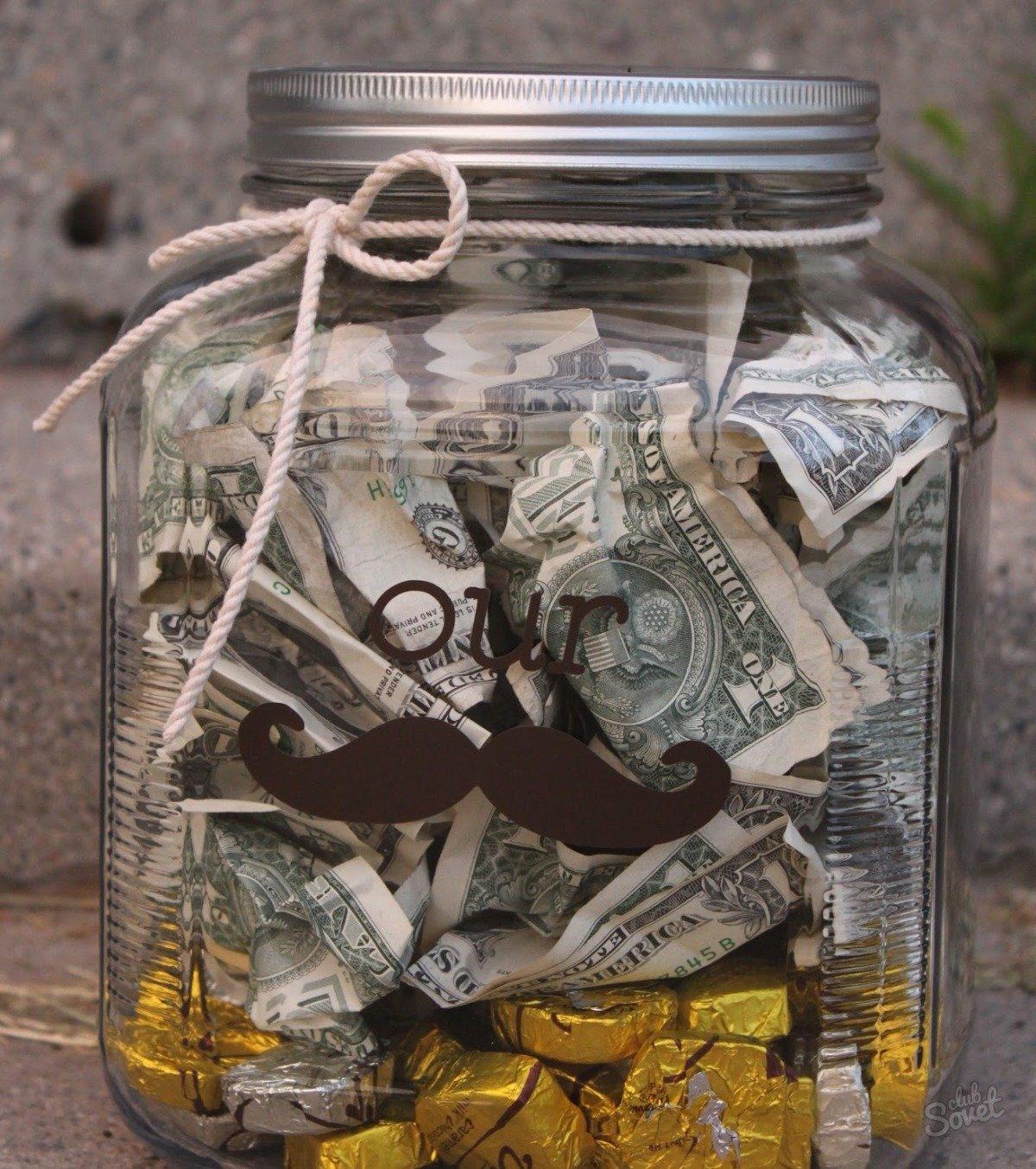 Копилка с деньгами на свадьбу
