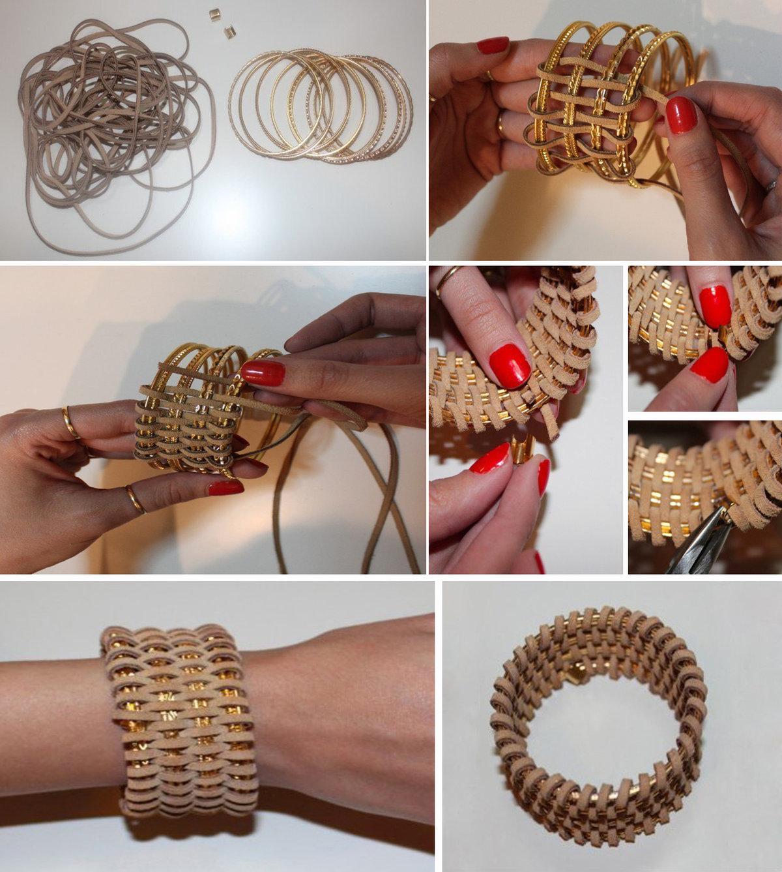 Схема вязания шарфа петли
