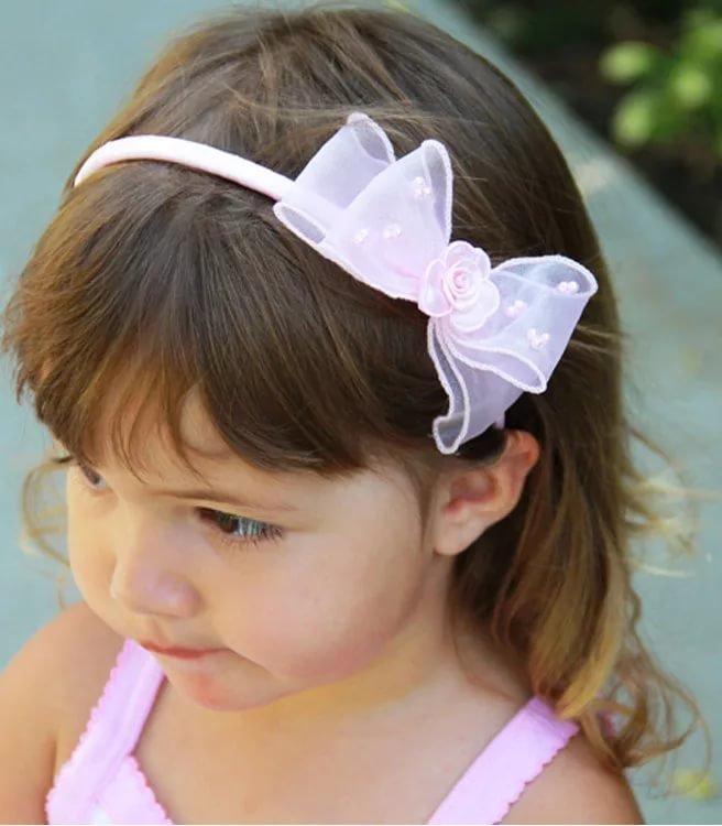 Нарядные повязки для девочек своими руками 83
