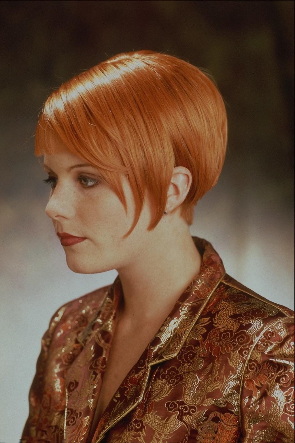 Прически короткий волос для рыжих