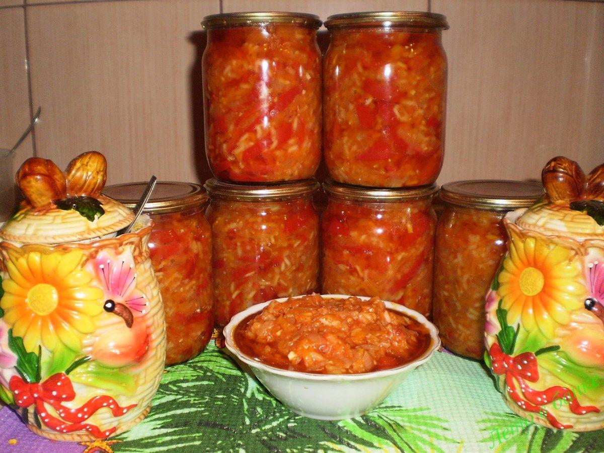 Салат из овощей с рисом на зиму рецепты пошагово