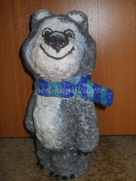 Медведь своими руками поделка из 152